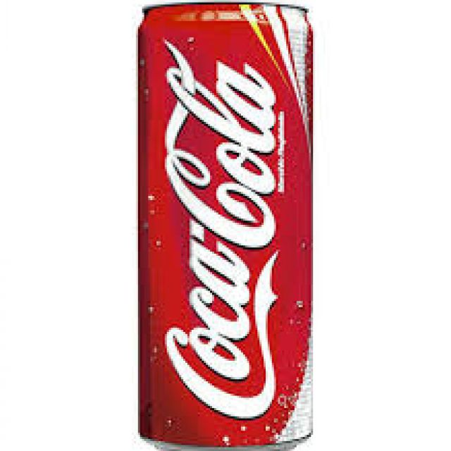 Coca cola lattina